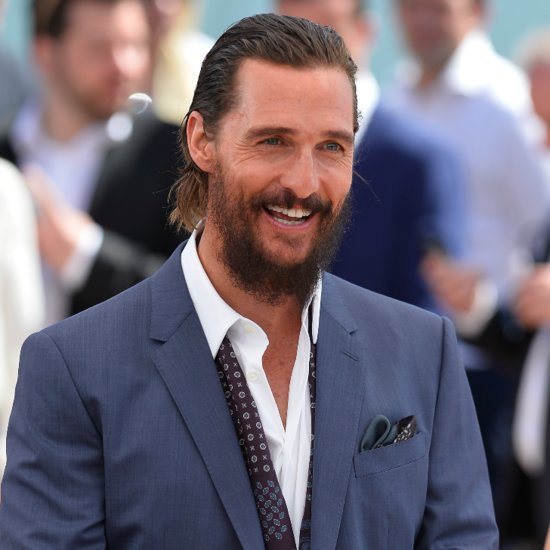 Matthew McConaughey at Cannes 2015