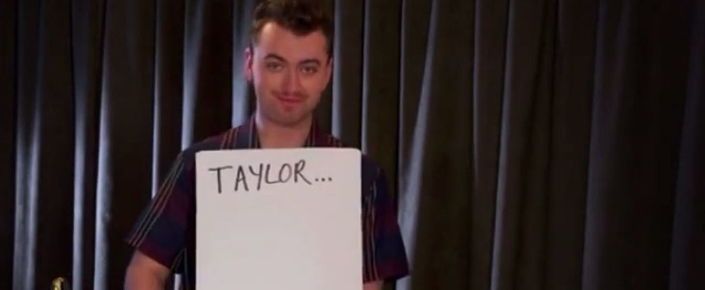 Sam Smith Adorably Re-Creates Iconic Love Actually Scene at the Billboard Music Awards