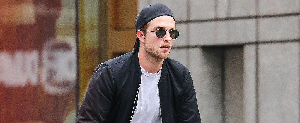 What Subway? Robert Pattinson Bikes Through the Streets of NYC