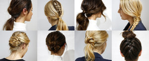 Fast Beauty: 10 Hairstyles You Can Do in 10 Minutes