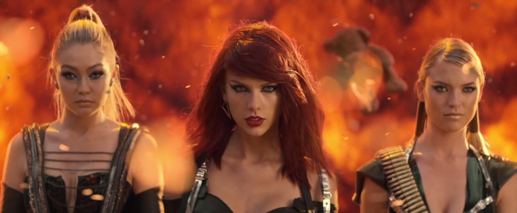Taylor Swift Tries On a (Bad) Blood-Red Hair Hue