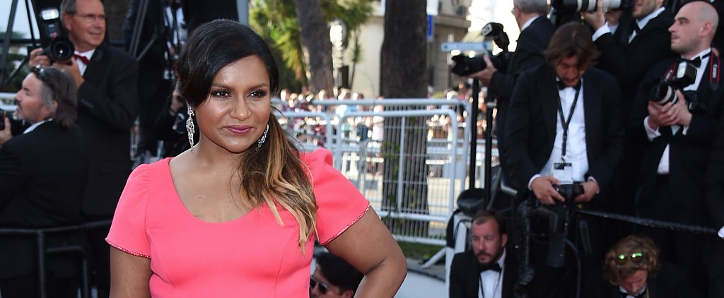 Mindy Kaling Helped Design Her Cannes Look