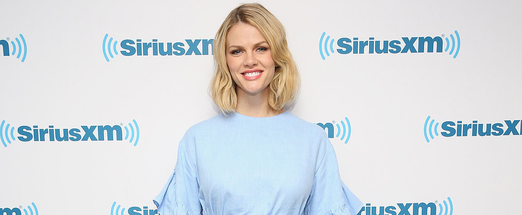 Brooklyn Decker Shows Off Her Baby Bump in Blue