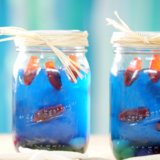 Go Fishing With Edible Mason Jar Aquariums