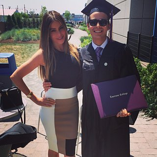 Sofia Vergara at Her Son's College Graduation