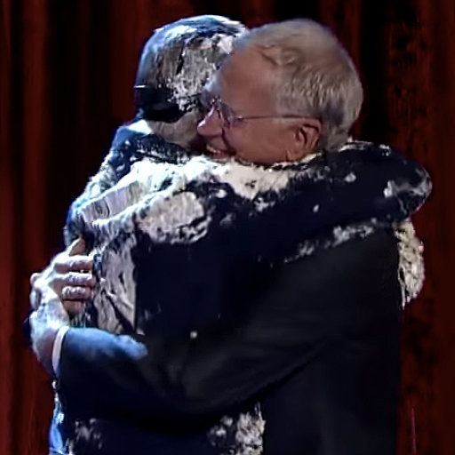 Bill Murray Jumps Out of Cake on Letterman | Video