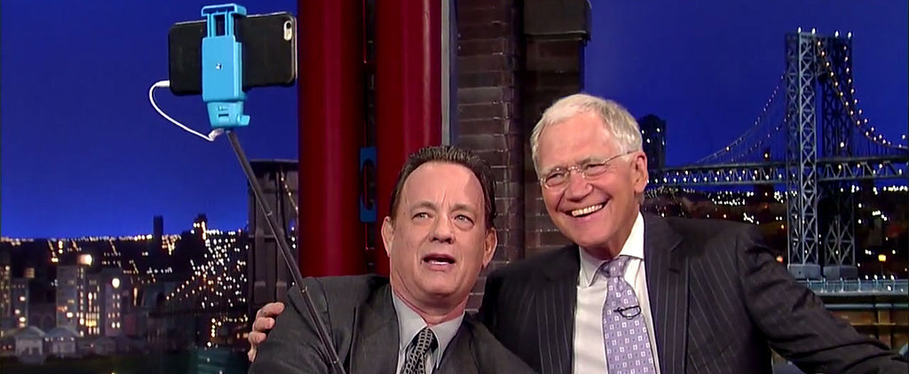 Watch: Tom Hanks Is an Absolute Pro at Taking Selfies
