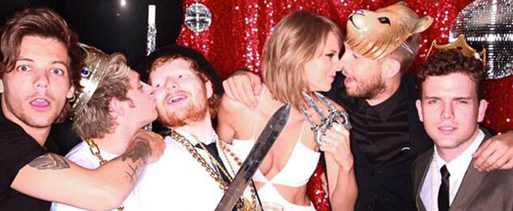 Taylor Swift and Calvin Harris Bring Back the Eskimo Kiss in Ridiculously Cute Party Photos
