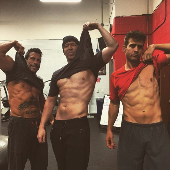 They've Still Got It! New Kids on the Block Members Show Off Insane Abs