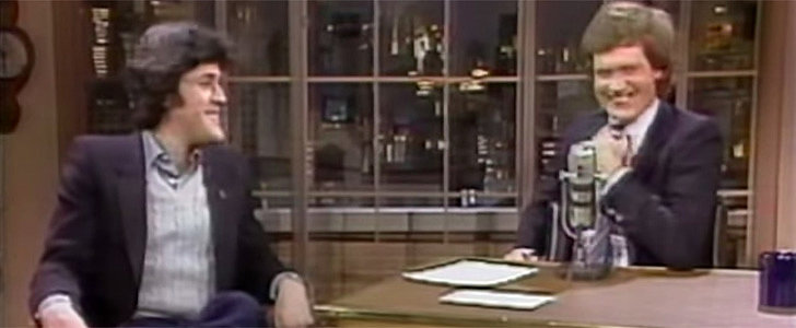 Holy Crap — Jay Leno and David Letterman Are So Young in This '80s Clip