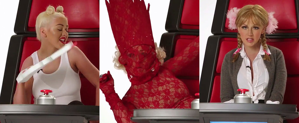 Christina Aguilera Spoofs Several Famous Pop Stars — but Does She Succeed?