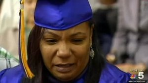 This Mom Walks for Her Son's Graduation After He Died in a Tragic Car Crash Last Week