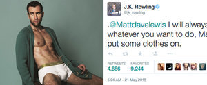 Neville Longbottom and J.K. Rowling Have a Cringeworthy Twitter Exchange