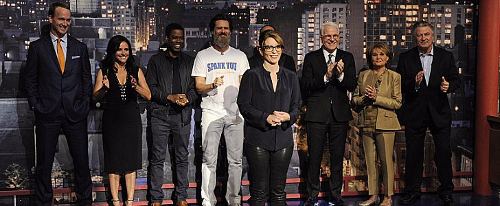 The Top 10 Goodbyes to David Letterman
