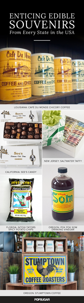 Enticing Edible Souvenirs From Every State in the USA
