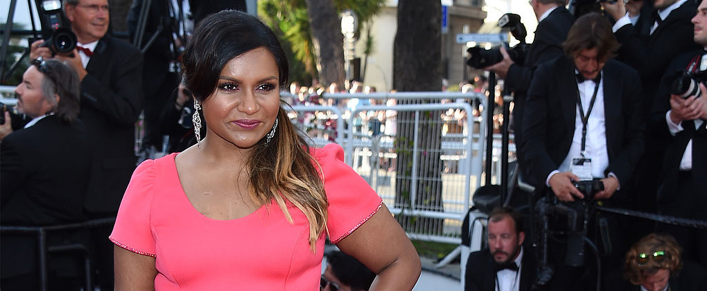 See How Mindy Kaling Is Rocking Her First Time at the Cannes Film Festival!