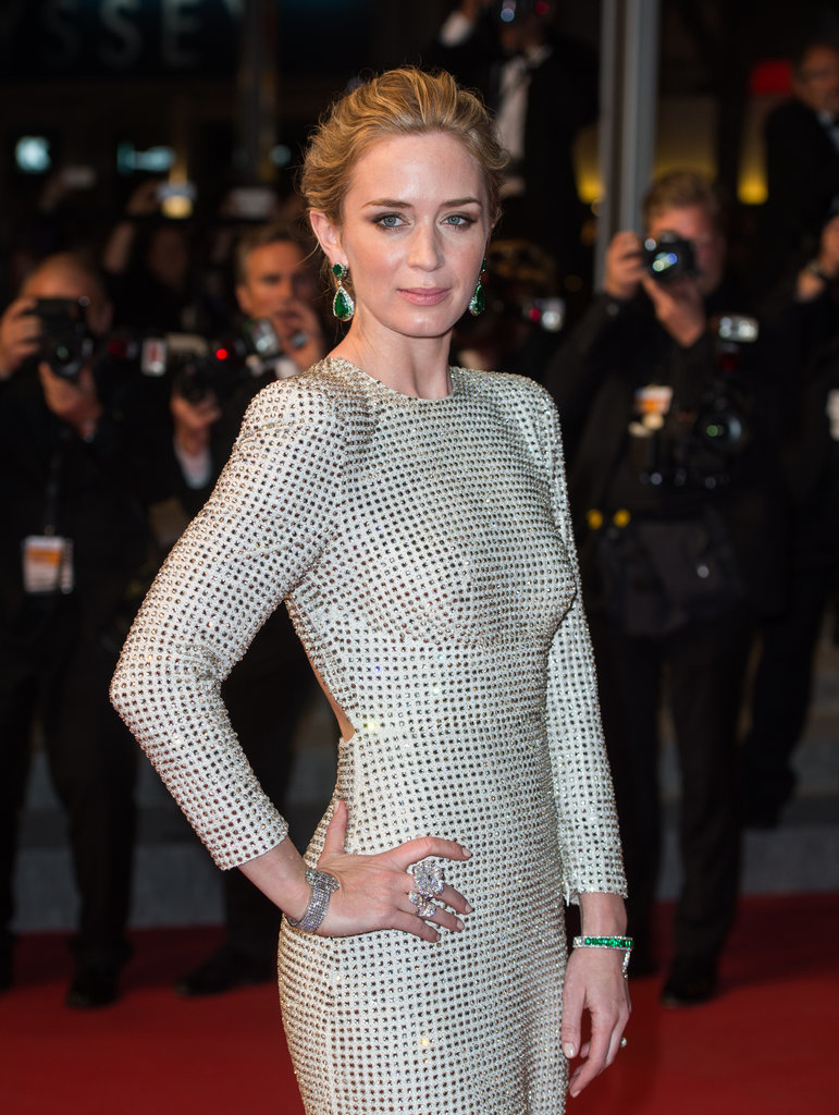 emily blunt at the cannes film festival 2015 popsugar celebrity. Black Bedroom Furniture Sets. Home Design Ideas