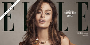 Elle Australia Featured Nicole Trunfio Breastfeeding After A Candid Moment Inspired The Photographer