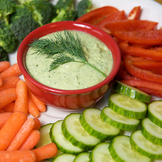 Recipe For Creamy White Bean Veggie Dip