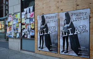 Posters Attacking Emma Sulkowicz Emerge in New York City