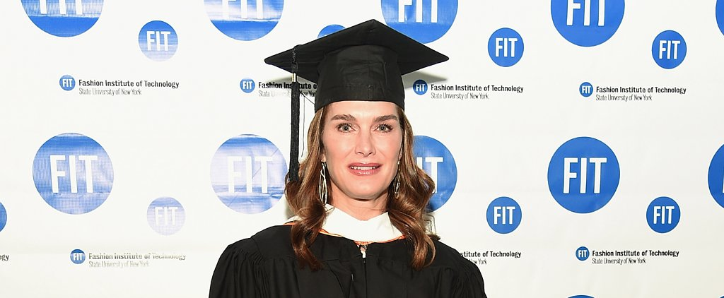Brooke Shields Thinks Fashion Can Make the World a Better Place