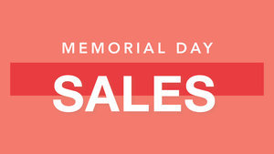All The Best Memorial Day Sales, Deals And Coupon Codes Right This Way