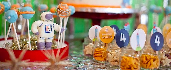 This Rocket Ship Birthday Party Is Out of This World