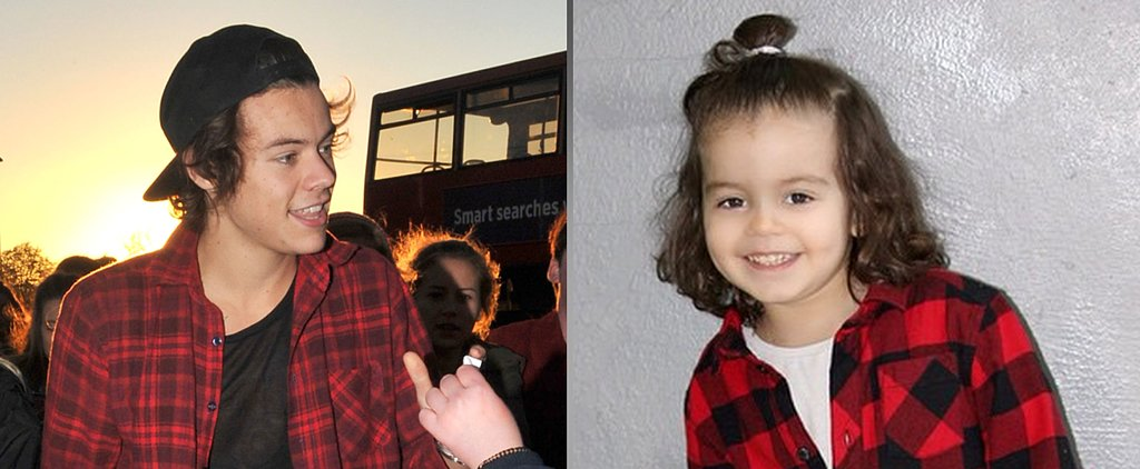 Who Wore It Best: Harry Styles or His Toddler Twin?