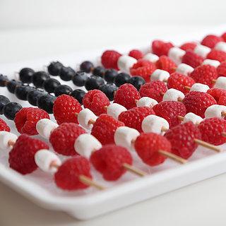 How to Make American Flag Fruit Skewers