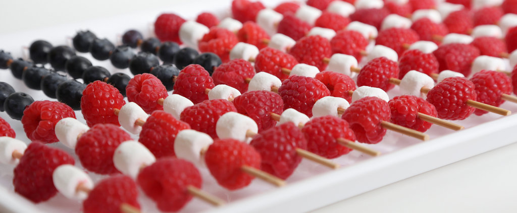 How to Make American Flag Fruit Skewers