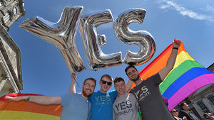 Celebs React to Ireland's Historic Same-Sex Marriage Vote