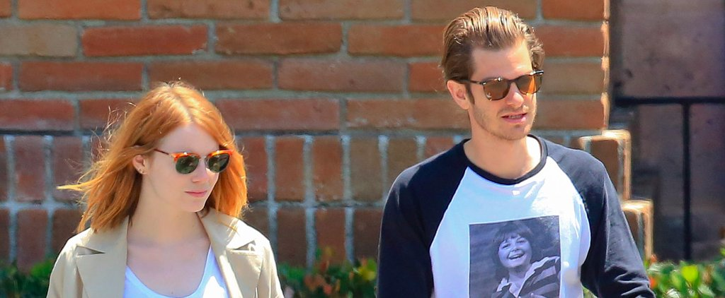 """Emma Stone and Andrew Garfield Look Pretty """"Back Together"""" to Us!"""