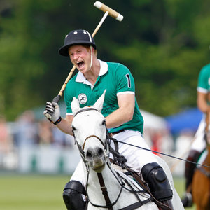 Pictures of Prince Harry Playing Polo