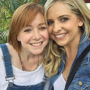Buffy and Willow Back Together! Sarah Michelle Gellar Reunites with Former Co-star Alyson Hannigan