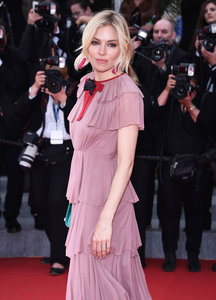 Sienna Miller closes Cannes 2015 in two Gucci dresses