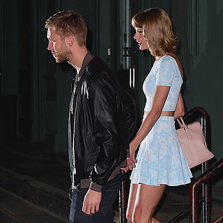 Taylor Swift and Calvin Harris Holding