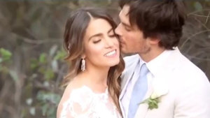 Nikki Reed & Ian Somerhalder Can't Stop Kissing in Intimate Wedding Day Video