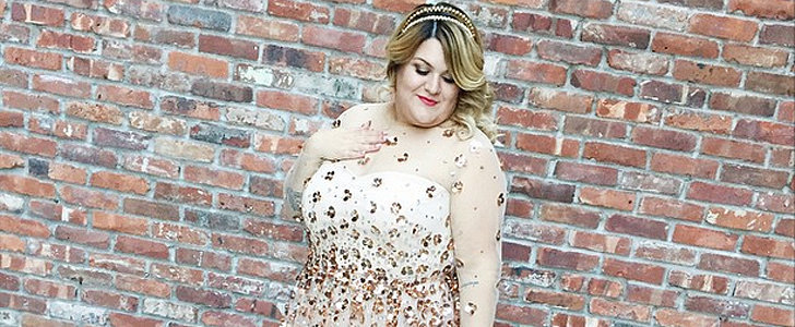Plus-Size Blogger Nicolette Mason Wore a Sheer Wedding Dress — and It Was Totally Classy