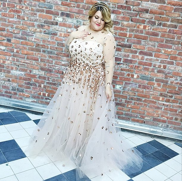 nicolette mason in christian siriano wedding dress