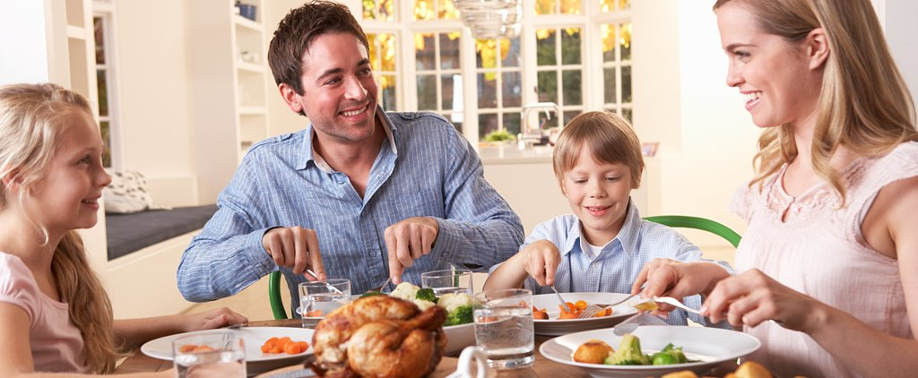 Here's How to Get Conversation Flowing During a Family Dinner