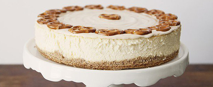 This Cheesecake Has It All: A Pretzel Crust, Creamy Texture, and a Caramel Topper
