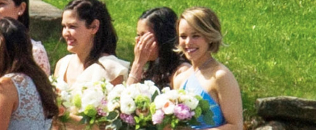 Rachel McAdams Shows How an Effortless Bridesmaid Look Is Done