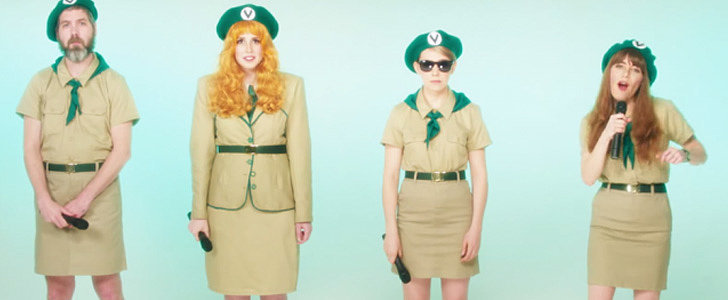 """Jenny Lewis's """"She's Not Me"""" Video Is the Ultimate Gift to Troop Beverly Hills Fans"""