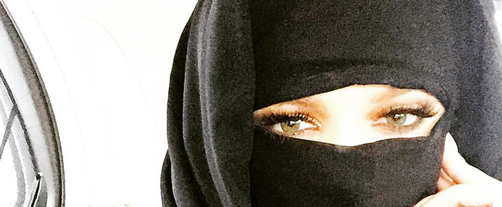 Are You Offended by Khloé Kardashian's Niqab Selfie?