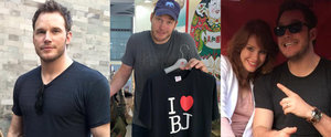 Chris Pratt's Travel Pictures Are Equal Parts Hot and Hilarious