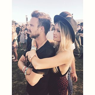 Aaron Paul and Lauren Parsekian's Cute Instagram Pi