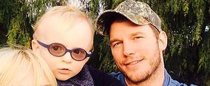 Chris Pratt Doing the Pledge of Allegiance With His Son Is Ridiculously Adorable