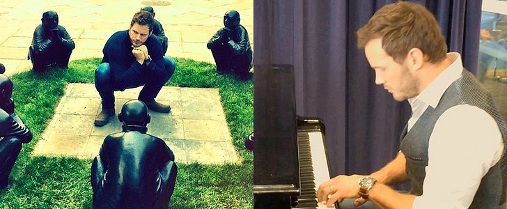 Watch Chris Pratt Play the Piano and Just Try Not to Swoon