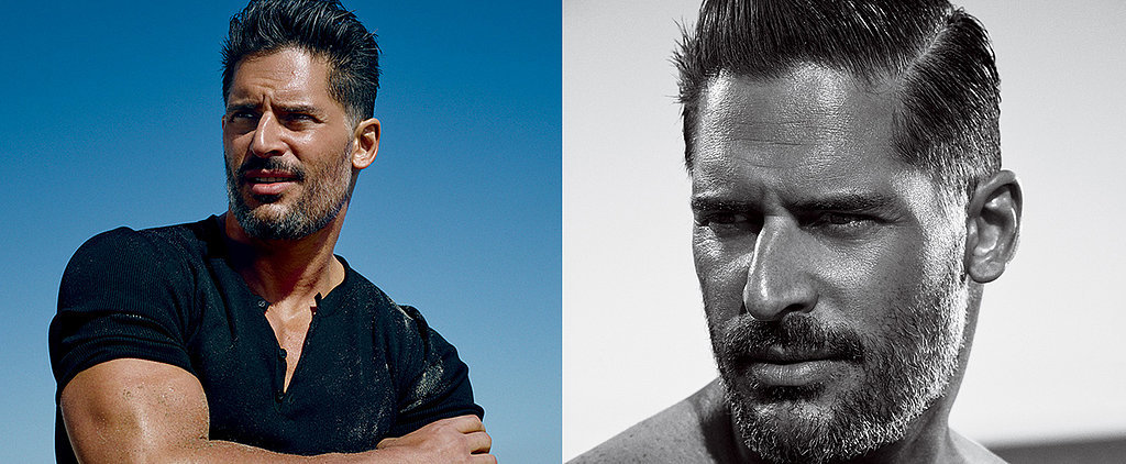 Joe Manganiello Brings the Heat With His Ridiculous Biceps and a Wet Shirt