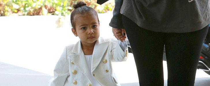 North West Completed Her Ballet Look With a Touch of Balmain